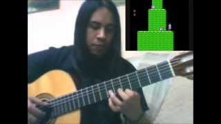 Super Mario Bros 2 - Overworld Theme - Guitar