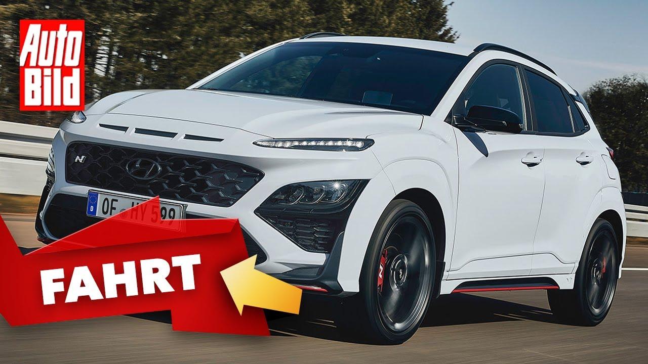 Hyundai Kona N (2021) |So fährt der 280 PS-Kona |Erste Fahrt mit Dennis Petermann