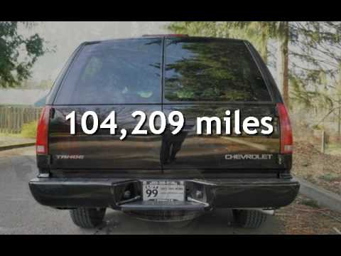 2000 Chevrolet Tahoe Limited Limited Edition Lowered Z60 High Performance For Sale In Milwaukie Or