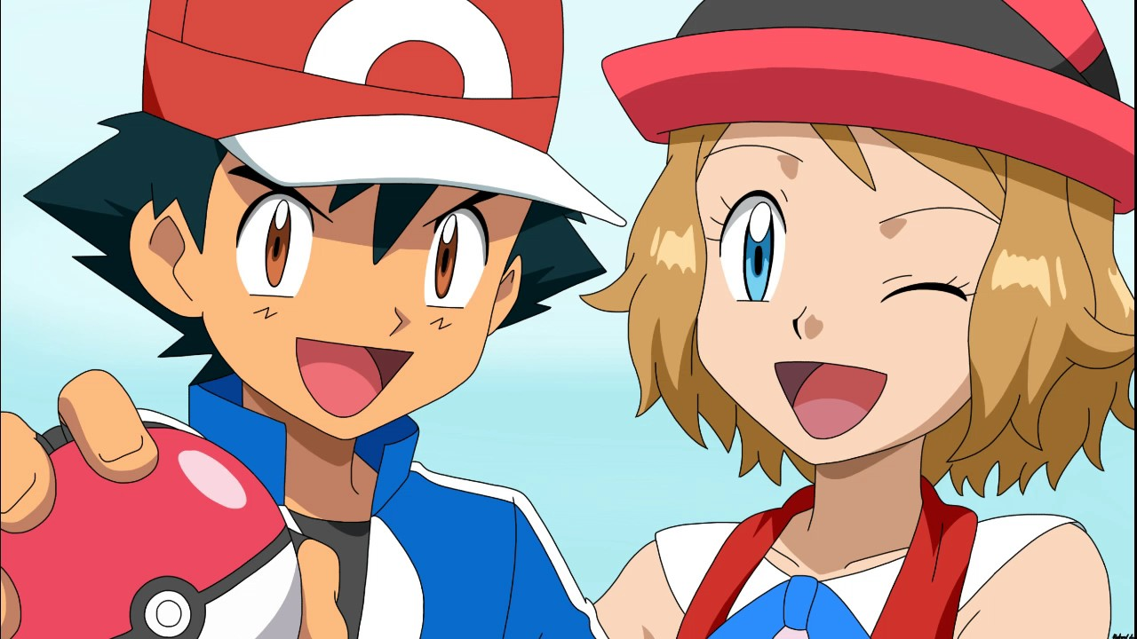 Does Ash Really Like Serena - Youtube-4197