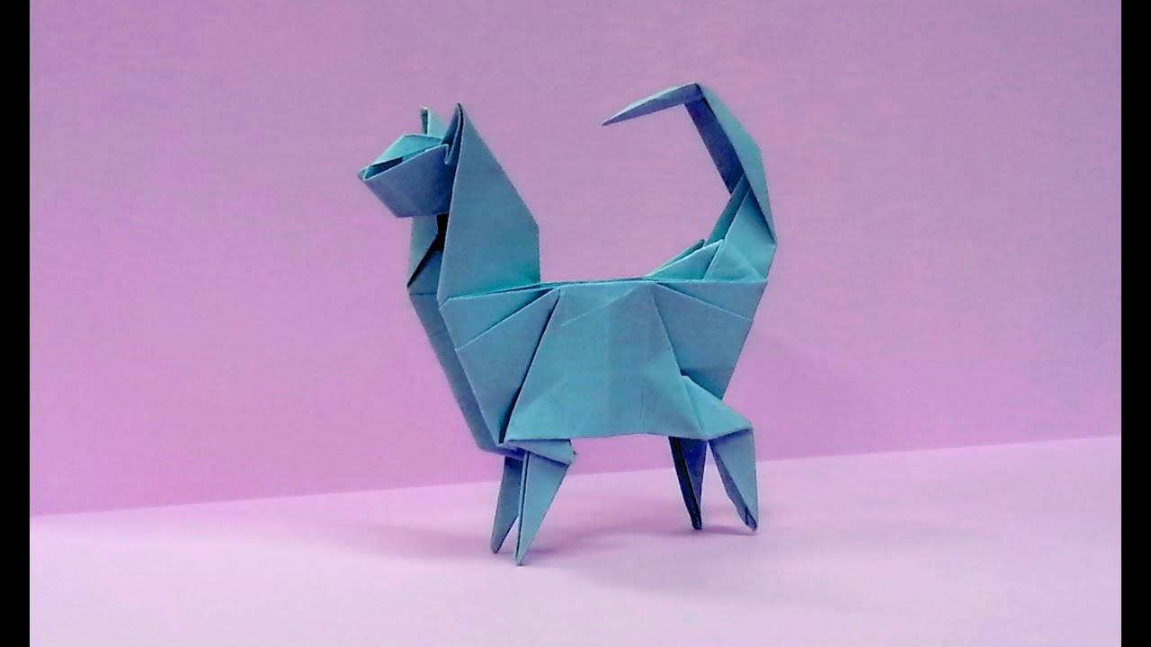 90 Origami Cat Diagram Cute Halloween How To Make An