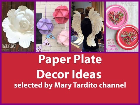 DIY Paper Plate Decor Ideas - Paper Plate Crafts Inspo