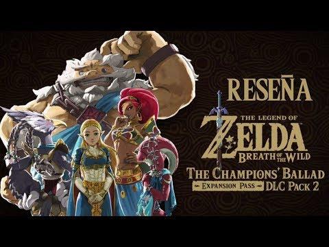 "Videoreseña - The Legend of Zelda: Breath of the Wild ""The Champion's Ballad"""