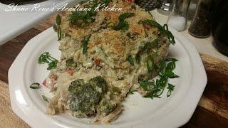 Creamy Baked Chicken Broccoli Cheddar Spaghetti (tetrazzini) - Episode 34