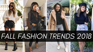 10 Fall Fashion Trends That Are Practical & Wearable 2018