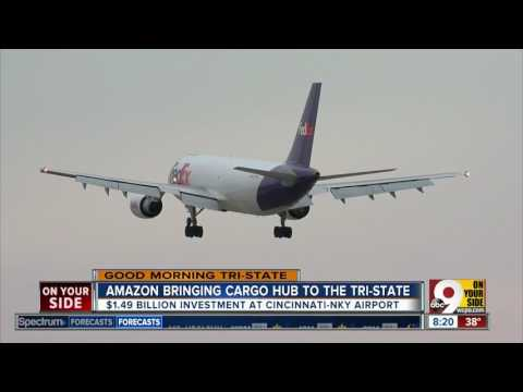 Insider Report: Amazon bringing cargo hub to Greater Cincinnati