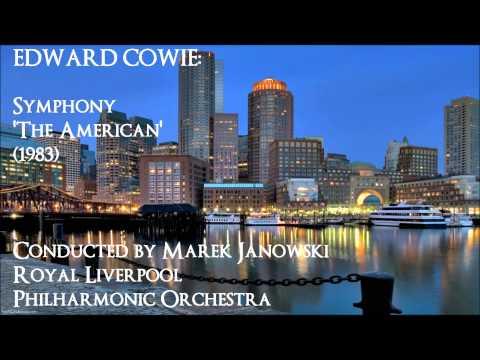 Edward Cowie: Symphony 'The American' (1983) [Janowski-RLPO]