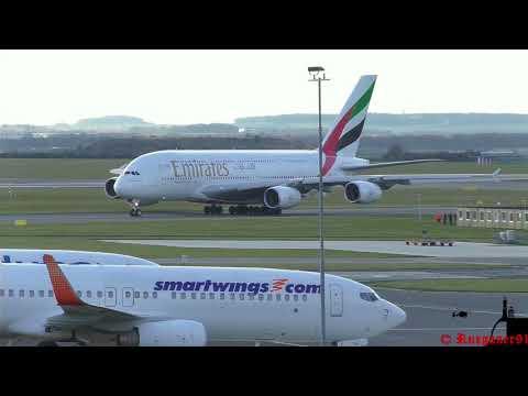 [HD] LKPR Prague Airport Spotting