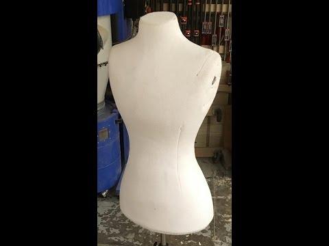 How to make a Fosshape dress form