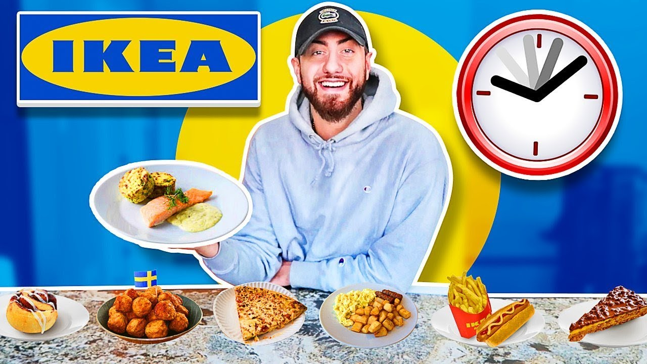 I Only Ate Ikea Foods For 24 Hours Impossible Food