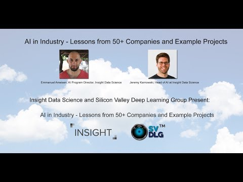 AI in Industry - Lessons from 50+ Companies and Example Projects