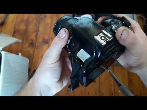 Распаковка с Алиэкспресс Aliexpress переходник адаптер M42-Canon EOS