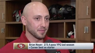 Brian Hoyer Excited to Reunite with Kyle Shanahan