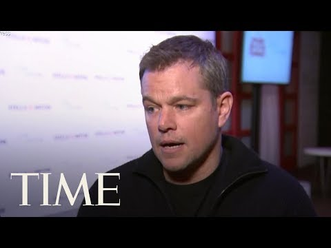 Matt Damon Apologizes For Comments On Sexual Assault: 'I Am Really Sorry' | TIME