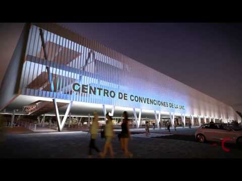 3D CORDOBA ANIMATION  LUMION--UNC Convention Center/Centro de convenciones unc