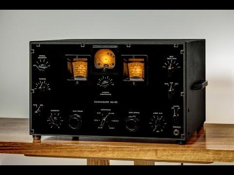 Tube Radio Restoration, Hammarlund HQ-120