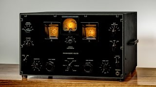 Tube Radio Restoration, Hammarlund HQ-120