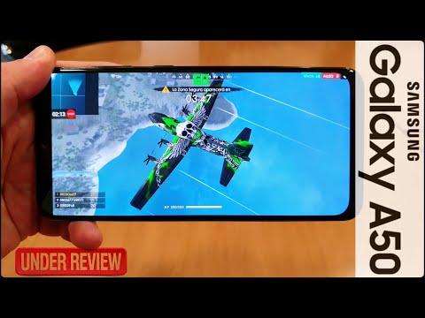 Análisis (Review) SAMSUNG GALAXY A50
