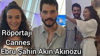 HERCAİ Ebru Şahin Akın Akınözü Cannes video 2