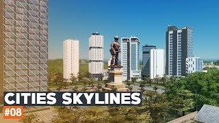 Cities Skylines | #08 | Black Lake | Przemysł Leśniczy