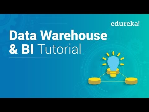 Data Warehouse Tutorial For Beginners | Data Warehouse Concepts | Data Warehousing | Edureka