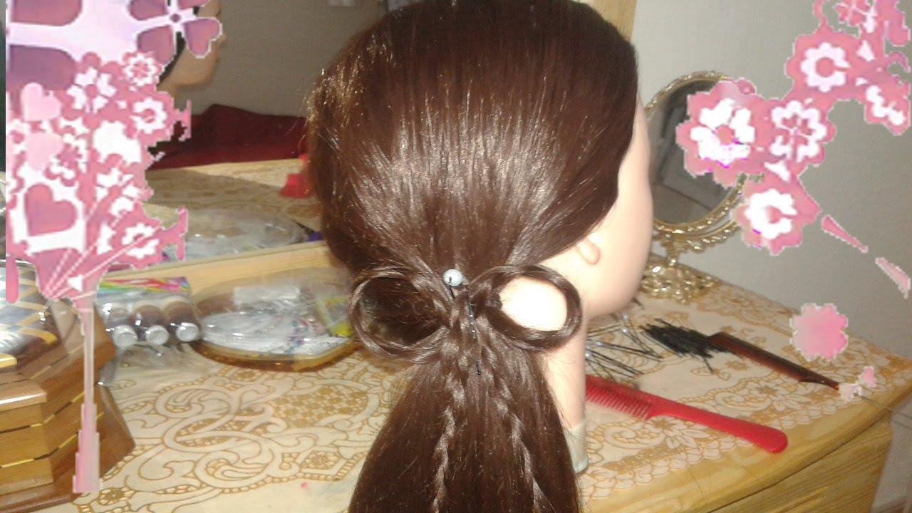 peinados faciles rapidos y bonitos con trenzas de moda para nia en cabello largo