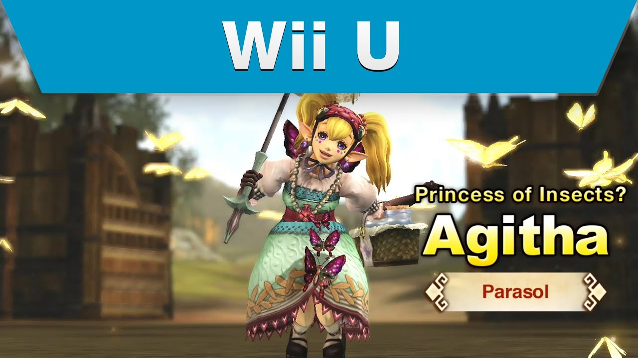 Wii U Hyrule Warriors Trailer With Agitha And A Parasol Youtube