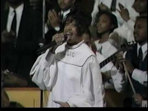 Dorinda Clark Cole sings 'Right NOW GOD'-February 1996