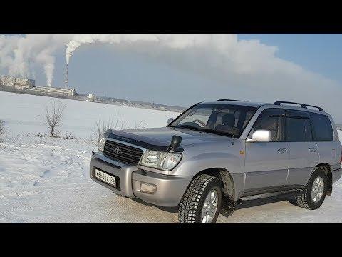 обзор модели Toyota Land Cruiser 100 - YouTube