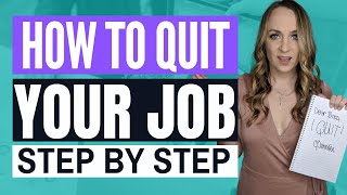How to quit y๐ur job respectfully and professionally