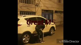 Funny car thief
