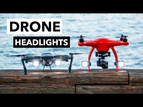 LitraTorch 2.0 Drone Edition | Flying Drones at Night? Adding Drone Headlights is a Good Idea!