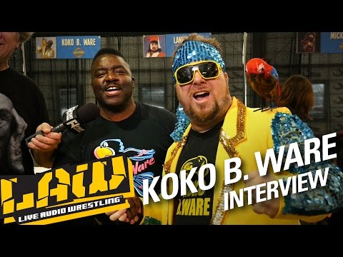 KOKO B. WARE on WWE Hall of Fame, Frankie the Bird Update | LAW INTERVIEWS