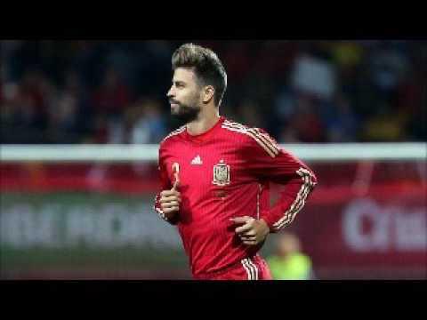 EURO2016 Gerard Pique Spain Czech Republic 13 06 2016 GOAL