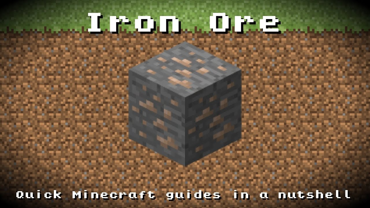 Minecraft - Iron Ore! Recipe, Item ID, Information! *Up to ...
