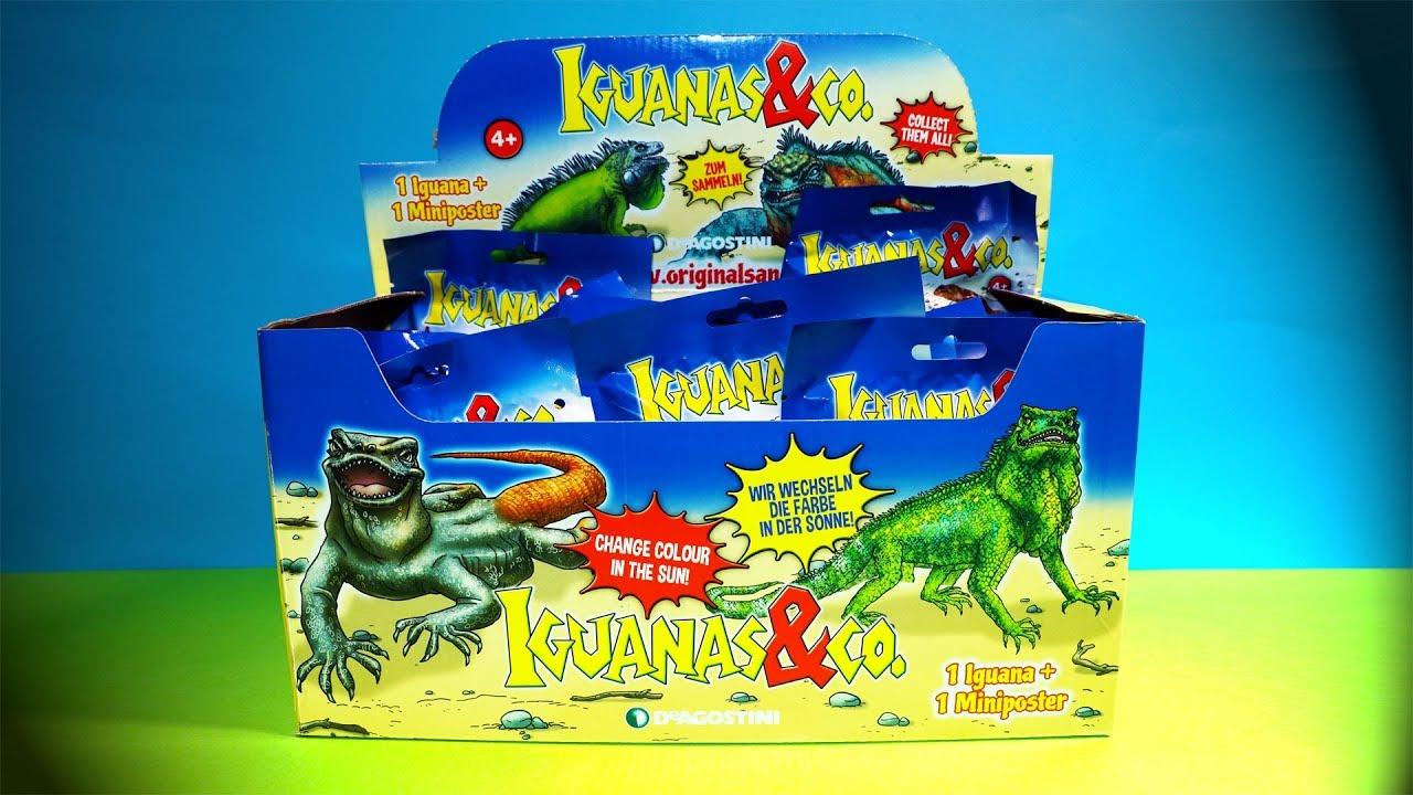 Leguane  22 Booster DeAgostini  IGUANAS /& CO