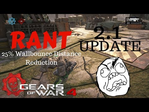 Gears of War 4: NEW BETA UPDATE RANT - 25% DISTANCE REDUCTION