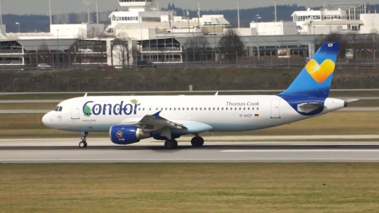 Abflug Condor München