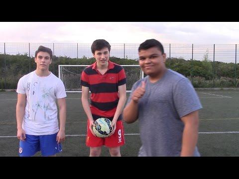 PLAYING FOOTBALL WITH THIAGO SILVA