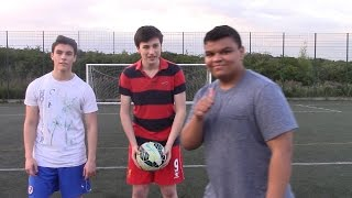 PLAYING FOOTBALL WITH THIAGO SILVA