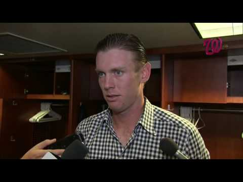 Stephen Strasburg on his rough outing in Colorado