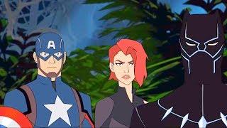 MARVEL | Мстители: Миссия Чёрной пантеры | Серия 21 Сезон 5 - Новый враг