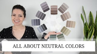 Neutral Colors For Living Room And Bedroom And The Whole House | Color Theory 101