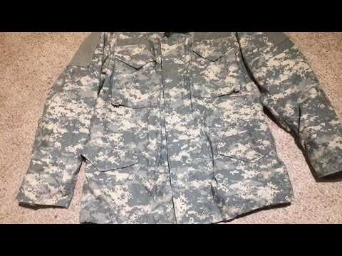Ucp Camo M65 Transitional Jacket