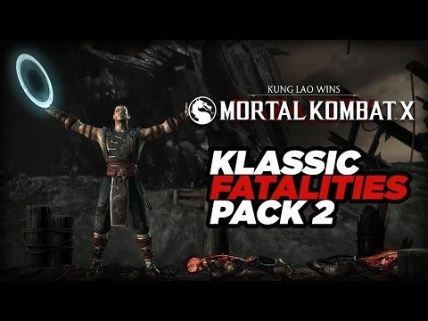 Klassic Fatality Pack 2 - Mortal Kombat X
