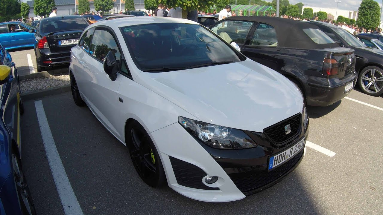 seat ibiza sc coupe bocanegra 6j white colour walkaround youtube. Black Bedroom Furniture Sets. Home Design Ideas