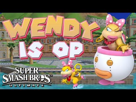 WENDY IS OP! - Smash Bros. Ultimate Montage