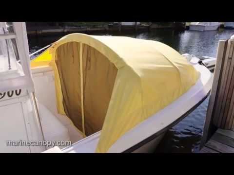 The Element - Marine Canopy - Bow Dodger for center console boats- Introduction HD & The Element - Marine Canopy - Bow Dodger for center console boats ...