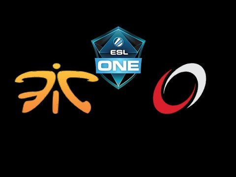 Fnatic vs coL ESL One Katowice 2019 Highlights Dota 2