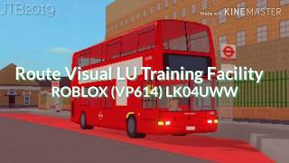 FULL ROUTE VISUAL | London United Training Facility | Ruislip Circular | ROBLOX LONDON